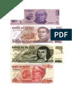 Archivo de imagenes de billetes