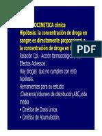 Clase 2 - Farmacocinetica 1