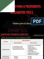 Algoritmo para o Tratamento do Diabetes Tipo 2 -  Atualizado 11.2017 (Slides resumidos) (1).pptx