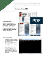 Guía Para Sistema MS2