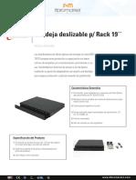 Bandeja TECFO Para Rack19