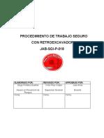 JAB-SGI-P-018 PROCEDICIMIENTO DE TRABAJO SEGURO CON RETROEXCAVADORA.pdf