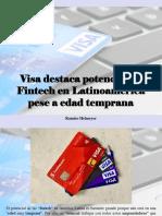 Ramiro Helmeyer - Visa Destaca Potencial de Fintech en Latinoamérica Pese a Edad Temprana