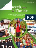 Throne Speech Bermuda Nov 9 2018