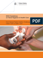 Guidelines on Hand Hygiene