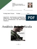 Análisis de La Película Hasta El Ultimo Hombre Segundo Medio
