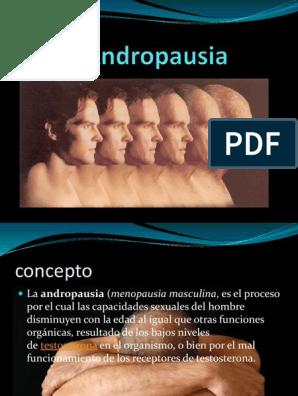 Que es la andropausia pdf