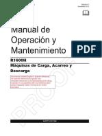 Manual Operacion y Mantenimiento r1600h-Spanish (1)