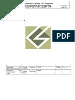 Reglamento Especial Para Empresas Contratistas y Subcontratistas 2018-2019