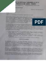 """CONVOCA al """"V congreso del FRENTE de DEFENSA de la provincia del Santa ANCASH PERU"""", 17 y18 Nov. 2018."""