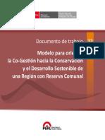 Documento de Trabajo 22 - Cogestión Con Reservas Comunales