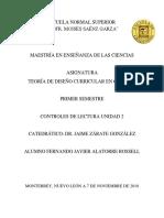 Fuentes Del Currilum