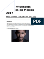 Top 5 Influencers Digitales en México 2017