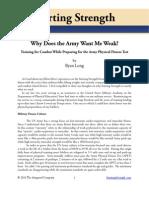 Army Weak Long