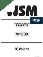 Manual Kubota m130x