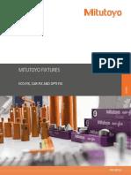 Mitutoyo Komeg - System mocowania Eco-fix, Car-fix i Opti-fix - PRE1403(2) - 2013 EN