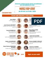 FEP CFDT - Profession de Foi CCMA
