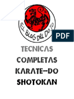 El Blog Del Dojo - Tecnicas Completas Karate-Do Shotokan