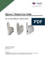 User Guide Ripwave Mx Modem