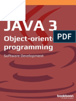 Java 3 Object Oriented Programming