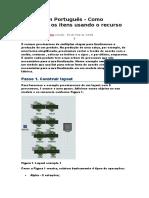 Como Direcionar Os Itens Usando o Recurso List1 - FLEXSIM