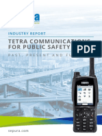 TETRA Communications for Public Safety