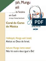 Hallelujah, Mungu wa Israeli
