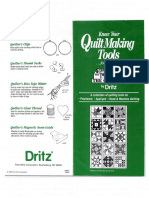 Know Your Quilt Making Tools Dritz