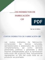 Bases de Aplicacion de Los Costos Indirectos de Fabricacion