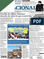 El Nacional, edición del viernes 9 de noviembre de 2018