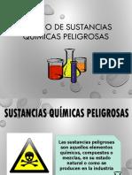 Manejo de Sustancias Quimicas Peligrosas