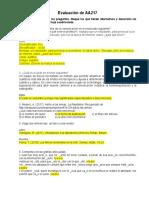 AA 217 Evaluacion de AA217