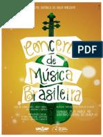 Concerto de Música Brasileira 2015