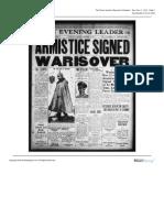 The News Leader Mon Nov 11 1918
