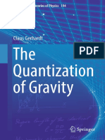 (Fundamental Theories of Physics 194.) Gerhardt, Claus-The Quantization of Gravity-Springer (2018)