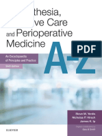 Anaesthesia and Intensive Care a-Z E-Book