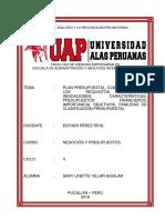 Trabajo Monografico - Sany Villar Aguilar - Uap - Lunes