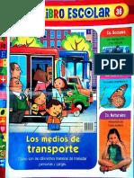 Suplemento de Revista Genios - Libro Escolar 36 (Los Medios de Transporte)