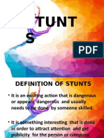 STUNTS Report