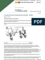 Circuito Del Sensor de Posición Del Acelerador - Probar