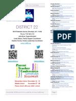 District 22 Newsletter November 2018
