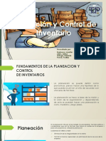 Planificacion y Control de Inventario