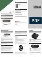 T-Mobile Layer3 set top box (MINI_ VM3011C) manual