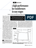 Design High-Performance Pulse Transformers