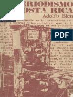 Adolfo Blen - El periodismo en Costa Rica