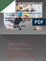 Rol Del Ingeniero Residente y Supervisor 2016