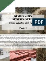 Jorge Miroslav Jara Salas - Dimensión Desconocida, Otros Relatos Del Caribe, Parte I