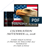 Veteran's Day Program2018