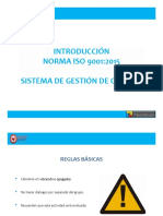 Introduccion ISO 90012015