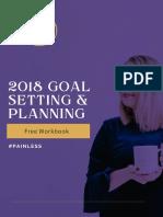2018 Goal Planning Workbook
